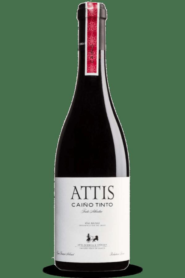 botella de vino attis caíño tinto