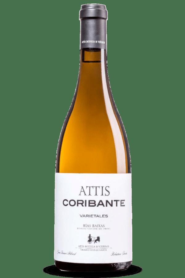 botella de vino attis coribante varietales