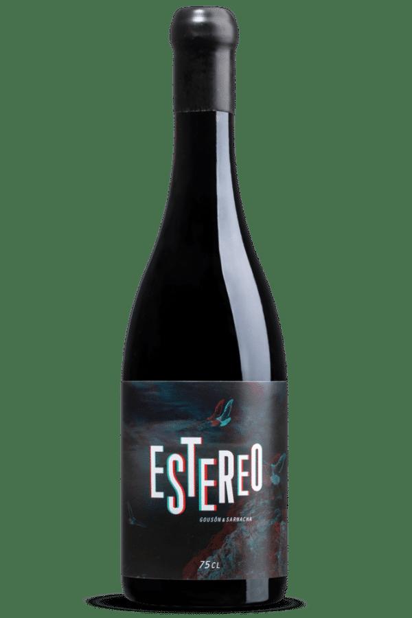 Botella de Vino Estereo