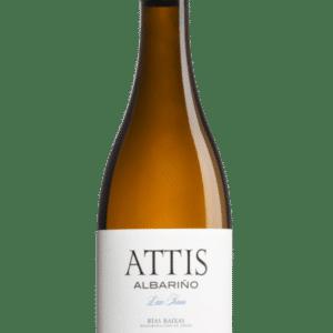 botella de vino attis albariño