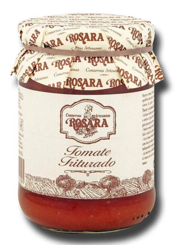 01209 conservas artesanas gourmet verdura tomate triturado tarro medio kilo rosara scaled