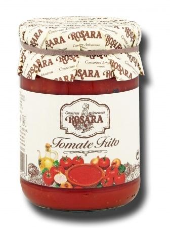 12009 conservas artesanas gourmet salsas tomate frito tarro medio kilo rosara