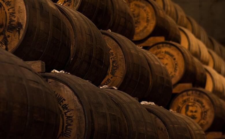 barriles vino tinto crianza