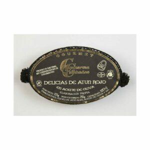 delicias de atun rojo en aceite de oliva ol 120 gourmet