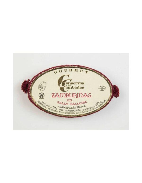 zamburinas en salsa gallega ol 120 gourmet