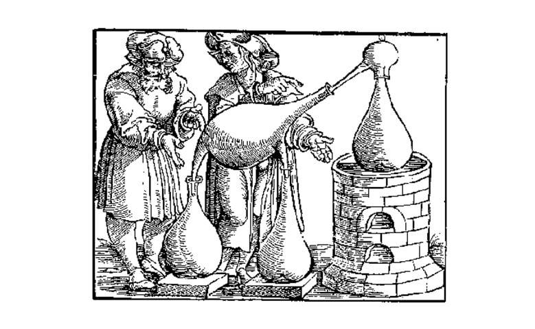 destileria medieval